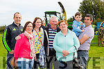 Patrick Kissane Glenflesk, Eileen Barton Mary horgam patsy Horgan, Breda Horgan Johne and Padraig Barton Castlemaine and Scartaglen at the SK Ploughing championships in Fossa on Sunday