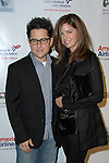 JJ ABRAMS, KATIE MCGRATH. The US-Ireland Alliance honored Producer JJ Abrams in Hollywood. Actor Tom Cruise presented the honor in a closed door ceremony at the historic Wilshire Ebell Theater. Los Angeles, CA, USA. March 4, 2010.