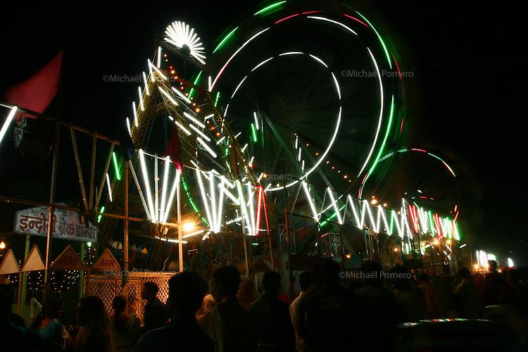 12.11.2008 Pushkar(Rajasthan) <br /> <br /> Night life in the Pushkar fair.<br /> <br /> Vie nocturne durant la pushkar fair