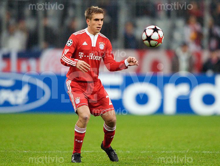 Fussball Uefa Champions League FC Bayern Muenchen - FC Girondins Bordeaux Philipp LAHM (FCB).