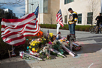 Memorial to slain MIT police officer Sean Collier