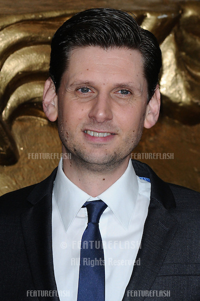 Larry Rickard arriving for the BAFTA Children's Awards 2012 at the London Hilton, London. 25/11/2012 Picture by: Steve Vas / Featureflash