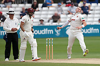 Peter Siddle in bowling action for Essex during Essex CCC vs Somerset CCC, Specsavers County Championship Division 1 Cricket at The Cloudfm County Ground on 25th June 2019