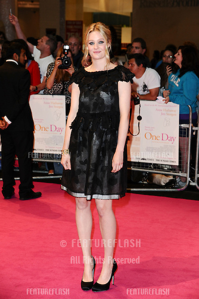Ramola Garai arriving for the European Premiere of 'One Day' at Westfield, west London. 23/08/2011  Picture by: Steve Vas / Featureflash
