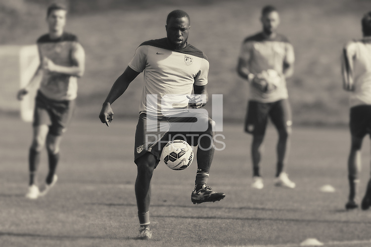 Carson, CA. - Thursday, February 5, 2015: USMNT Training at StubHub Center.