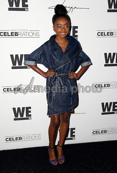 "29 January 2016 - Hollywood, California - Skai Jackson. ""Daya"" By Zendaya Shoe Line Launch Party to be featured on an upcoming episode of WE tv's David Tutera's CELEBrations held at Raleigh Studios. Photo Credit: Parisa Michelle/AdMedia"