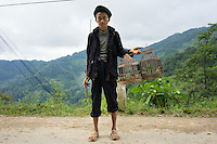 September 20, 2014 - Don Vang (Vietnam). A sheperd poses for a portrait on the road between Don Vang and Lung Cu, considered the northern point of Vietnam. © Thomas Cristofoletti / Ruom
