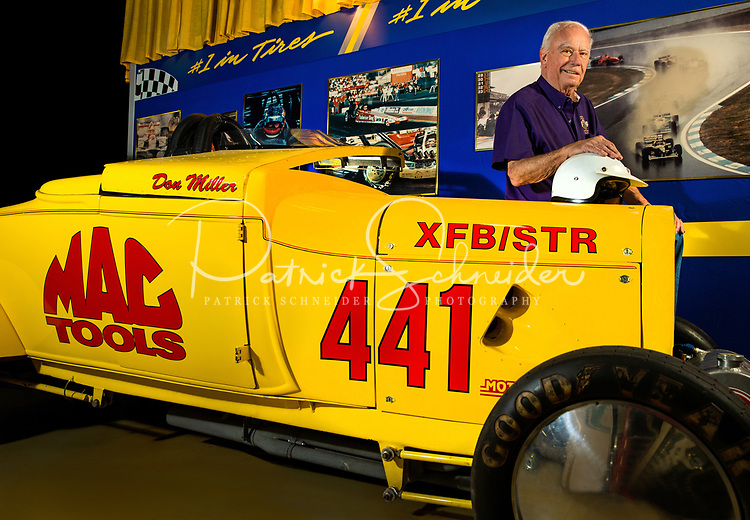 Photography of the North Carolina Auto Racing Hall of Fame in Mooresville, North Carolina.<br />