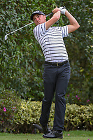 Justin Thomas (USA) watches his tee shot on 17 during round 2 of the World Golf Championships, Mexico, Club De Golf Chapultepec, Mexico City, Mexico. 2/22/2019.<br /> Picture: Golffile | Ken Murray<br /> <br /> <br /> All photo usage must carry mandatory copyright credit (© Golffile | Ken Murray)