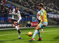 Bolton Wanderers' Christian Doidge competing with Rotherham United's Joe Mattock<br /> <br /> Photographer Andrew Kearns/CameraSport<br /> <br /> The EFL Sky Bet Championship - Bolton Wanderers v Rotherham United - Wednesday 26th December 2018 - University of Bolton Stadium - Bolton<br /> <br /> World Copyright © 2018 CameraSport. All rights reserved. 43 Linden Ave. Countesthorpe. Leicester. England. LE8 5PG - Tel: +44 (0) 116 277 4147 - admin@camerasport.com - www.camerasport.com