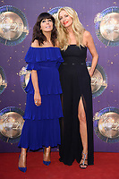Claudia Winkleman and Tess Daly<br /> at the launch of the new series of &quot;Strictly Come Dancing, New Broadcasting House, London. <br /> <br /> <br /> &copy;Ash Knotek  D3298  28/08/2017