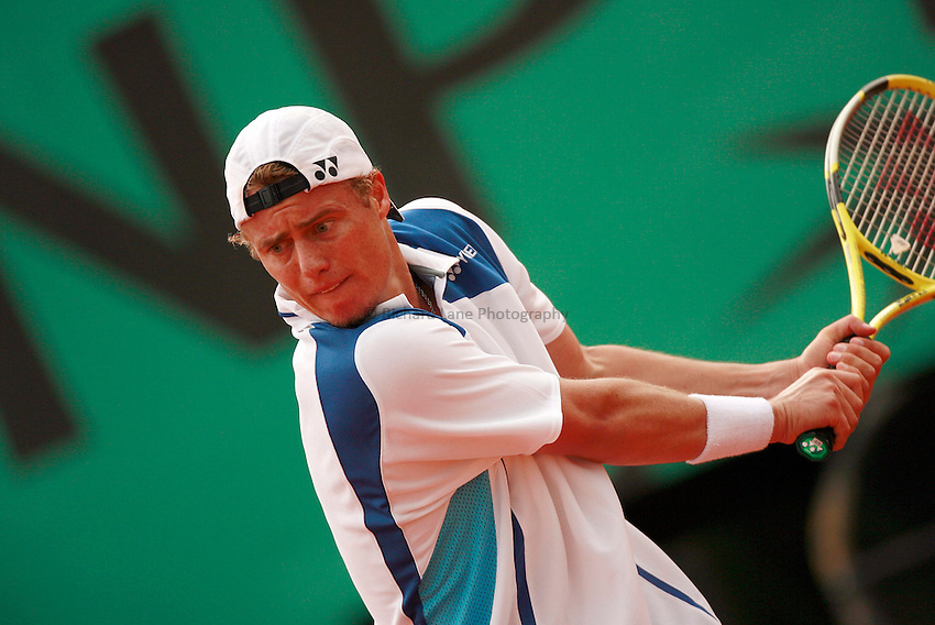 Photo: Iconsport/Richard Lane Photography..Roland Garros 2006..01/06/2006. .Lleyton Hewitt.