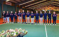 Wateringen, The Netherlands, December 15,  2019, De Rhijenhof , NOJK juniors doubles , Umpires and linespersons<br /> Photo: www.tennisimages.com/Henk Koster