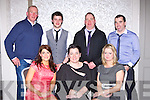 Enjoying the Glenbeigh/Glencar GAA social in the Killarney Oaks Hotel on Saturday night were front row l-r: Caroline Walsh, Mary B Teahan, Maria Ryle. Back row: Brendan Teahan, Patrick Waxie, Brendan Teahan and Ger Waxie