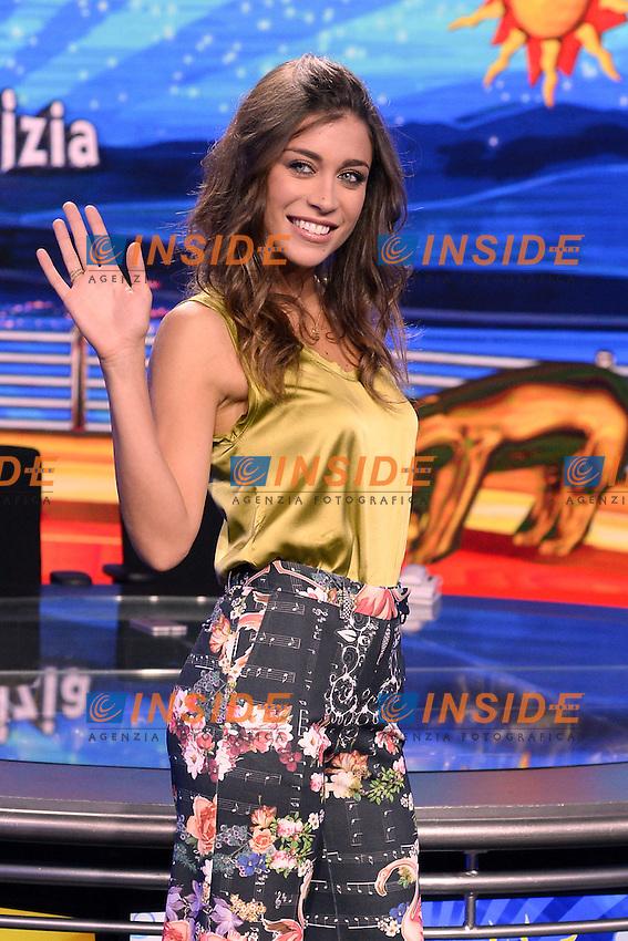 Ludovica Frasca <br /> Milano 22-09-2016 - photocall trasmissione Tv Striscia la notizia <br /> foto Daniele Buffa/Image/Insidefoto
