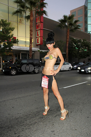 Bai Ling at the Samurai Cop 2 Deadly Vengeance Premiere at  Laemmle in North Hollywood, California on October 9, 2015. Credit: David Edwards/MediaPunch