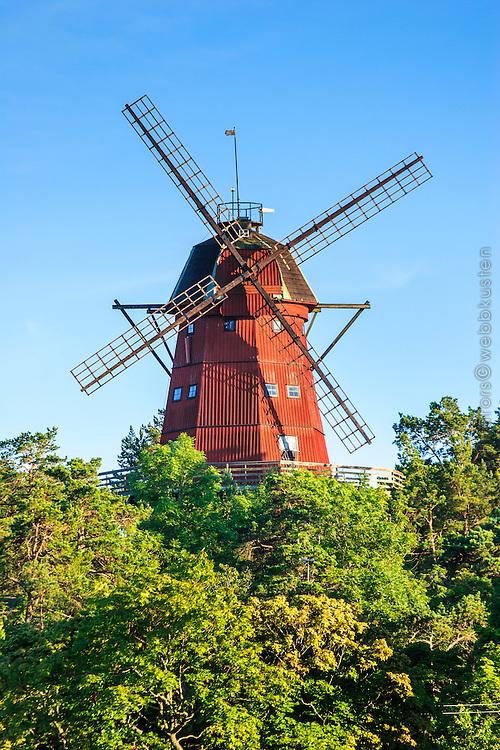 Väderkvarn Utö kvarn i Stockholms skärgård