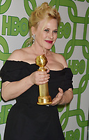 BEVERLY HILLS, CA - JANUARY 06: Patricia Arquette attends HBO's Official Golden Globe Awards After Party at Circa 55 Restaurant at the Beverly Hilton Hotel on January 6, 2019 in Beverly Hills, California.<br /> CAP/ROT/TM<br /> ©TM/ROT/Capital Pictures