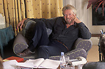 Richard Branson portrait business man at his home Nottinghill Gate west London  1990s UK