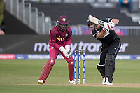 Colin de Grandhomme (New Zealand)drives through the covers during West Indies vs New Zealand, ICC World Cup Warm-Up Match Cricket at the Bristol County Ground on 28th May 2019