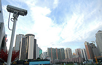 China's southern city of  Shenzhen.  shenzhen is the tsting gound for an new all encompassing surveillance system known as Golden Shield.<br /> <br /> photo by richard jones