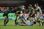 George Naoupu takes up the attack for Connacht..RaboDirect Pro12.Cardiff Blues v Connacht.Cardiff Arms Park..10.02.12.©Steve Pope
