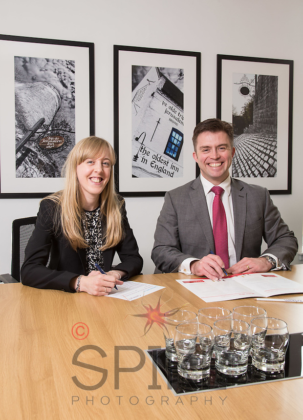 Charlotte Chapman and Paul Simpson from Gateley plc Nottingham