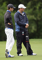 22 May, 2010:   Middle Tennessee States assistant coach Chas Narramore and Craig Smith look over the shot on hole ten during day three of the first round of the NCAA West Regionals at Gold Mountain Golf course in Bremerton, WA.