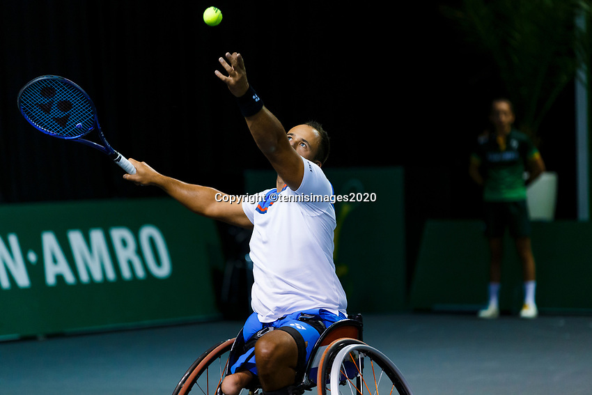 Rotterdam, The Netherlands, 12 Februari 2020, Wheelchair: Tom Egberink (NED).<br /> Photo: www.tennisimages.com