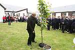 Fr Murtagh plants a tree at the Official Opening of the new extension at Callystown National School...Photo NEWSFILE/Jenny Matthews.(Photo credit should read Jenny Matthews/NEWSFILE)....This Picture has been sent you under the condtions enclosed by:.Newsfile Ltd..The Studio,.Millmount Abbey,.Drogheda,.Co Meath..Ireland..Tel: +353(0)41-9871240.Fax: +353(0)41-9871260.GSM: +353(0)86-2500958.email: pictures@newsfile.ie.www.newsfile.ie.FTP: 193.120.102.198.