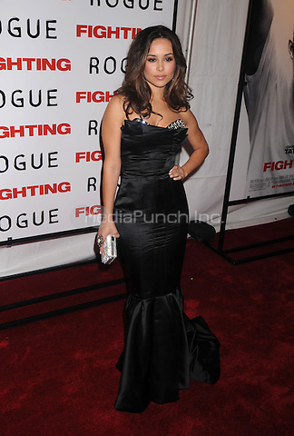 Zulay Henao at the premiere of 'Fighting' at the Regal Union Square Stadium 14 in New York City. April 20, 2009. Credit: Dennis Van Tine/MediaPunch