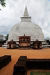 UNESCO World Heritage Site, the ancient city of Polonnaruwa, Sri Lanka, Asia, Alahana Pirivena complex, Kili Vihara stupa
