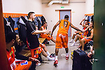 S&ouml;dert&auml;lje 2014-01-03 Basket Basketligan S&ouml;dert&auml;lje Kings - Bor&aring;s Basket :  <br /> Bor&aring;s James &quot;JJ&quot; Miller  jublar tillsammans med lagkamrater i omkl&auml;dningsrummet efter matchen <br /> (Foto: Kenta J&ouml;nsson) Nyckelord:  jubel gl&auml;dje lycka glad happy