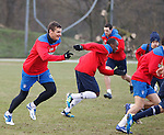 Lee McCulloch chases the other guys