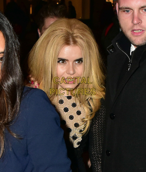 Paloma Faith arrives for the premiere of the Burberry festive film at Burberry on November 3, 2015 in London, England.<br /> CAP/JOR<br /> &copy;JOR/Capital Pictures