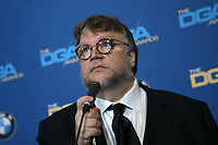 BEVERLY HILLS, CA - FEBRUARY 3: Guillermo del Toro in the press room at the 70th Annual DGA Awards at The Beverly Hilton Hotel in Beverly Hills, California on February 3, 2018. <br /> CAP/MPI/FS<br /> &copy;FS/MPI/Capital Pictures