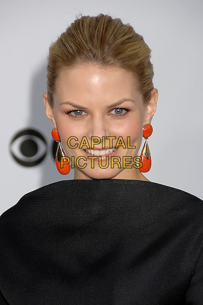 JENNIFER MORRISON.2007 Movies Rock Celebration Presented by Conde Nast Media Group at the Kodak Theatre, Hollywood, California USA, 2 December 2007..portrait headshot orange earrings.CAP/ADM/BP.©Byron Purvis/AdMedia/Capital Pictures.