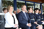 23/7/2015.    Graduating from the Garda College in Templemore this Thursday were from left the Minister for Justice Frances Fitzgerald, Taoiseach Enda Kenny, Garda Commissioner N&oacute;ir&iacute;n O&rsquo;Sullivan and Chief Supt. Anne Marie McMahon, Director Garda College.<br /> Photograph Liam Burke/Press 22