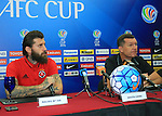 Pre-Match Press Conference prior to the AFC Cup 2016 Quarter Finals match between Johor Darul Ta'zim (MAS) vs South China (HKG) at Stadium Tan Sri Dato Hj Hassan Yunos on 19 September 2016, in Johor Bahru, Malaysia. Photo by Simon Yap / Lagardere Sports