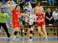 v.l.n.r. Stefanie Egger (TSV), Wiebke Kethorn (VFL), Kim Naidzinavicius (TSV)