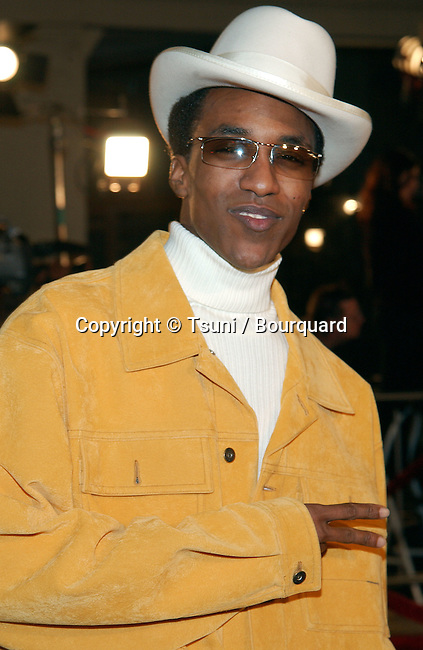 De'Angelo Wilson arriving at the 8 Mile Premiere at the Westwood Village Theatre in Los Angeles. November 6, 2002.           -            WilsonDeAngelo156.jpg