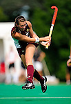 28 August 2009: Boston College Eagles' midfield/forward Kate Gillis, a Sophomore from Vancouver, BC, in action against the University of Vermont Catamounts at Moulton Winder Field in Burlington, Vermont. The Eagles shut out the Catamounts 3-0 in both teams' first game of the 2009 season. Mandatory Photo Credit: Ed Wolfstein Photo