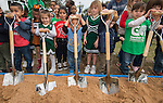Groundbreaking ceremony at Garden Oaks Montessori, February 17, 2017.