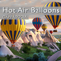 Pictures & Images of Cappadocia Hot Air Balloons - Goreme Turkey