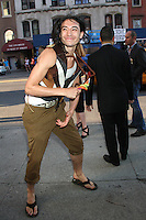 June 27, 2012 Ezra Miller at the special screening of Universal Pictures' Savages at the SVA Theater in New York City. &copy; RW/MediaPunch Inc *NORTEPHOTO*COM*<br /> **SOLO*VENTA*EN*MEXICO**<br /> **CREDITO*OBLIGATORIO** <br /> *No*Venta*A*Terceros*<br /> *No*Sale*So*third*<br /> *** No Se Permite Hacer Archivo**