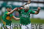 Garry O'Brien Ballyduff in action against  Lixnaw in the Senior County Hurling Final in Austin Stack Park on Sunday