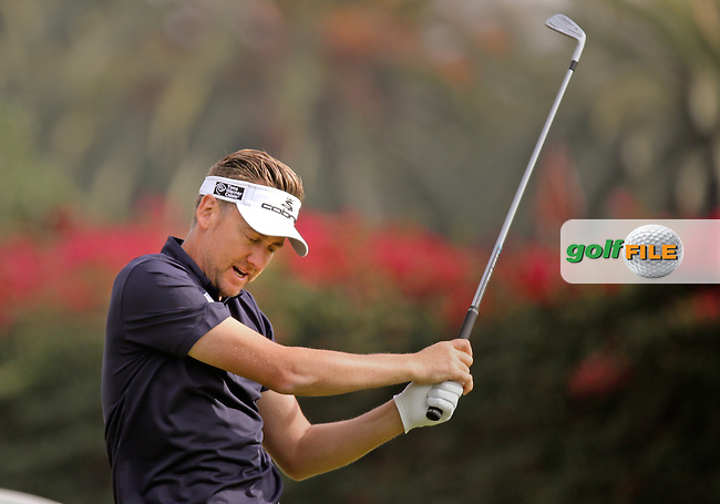 15 FEB 13 Ian Poulter on14 during Saturday's Third Round of The Northern Trust Open at Riviera Country Club in Pacific Palisades,California. photo credit :  (kenneth e. dennis/kendennisphoto.com)