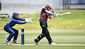 6th December 2017, Eden Park, Auckland, New Zealand; Ford Trophy One Day Cricket, Auckland Aces versus Canterbury Wizards;  Canterbury's Ben Stokes batting