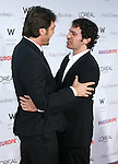 """Actors Javier Bardem and Chris Messina (L-R) arrive at The Los Angeles Premiere of """"Vicky Cristina Barcelona"""" at the Mann Village Theatre on August 4, 2008 in Westwood, California."""