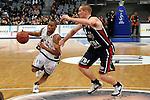 Mannheim 17.01.2009, BBL Team S&uuml;d Winsome Frazier am Ball gegen BBL Team Nord Andrew Drevo im Spiel S&uuml;d - Nord beim Basketball All Star Day 2009<br /> <br /> Foto &copy; Rhein-Neckar-Picture *** Foto ist honorarpflichtig! *** Auf Anfrage in h&ouml;herer Qualit&auml;t/Aufl&ouml;sung. Belegexemplar erbeten.
